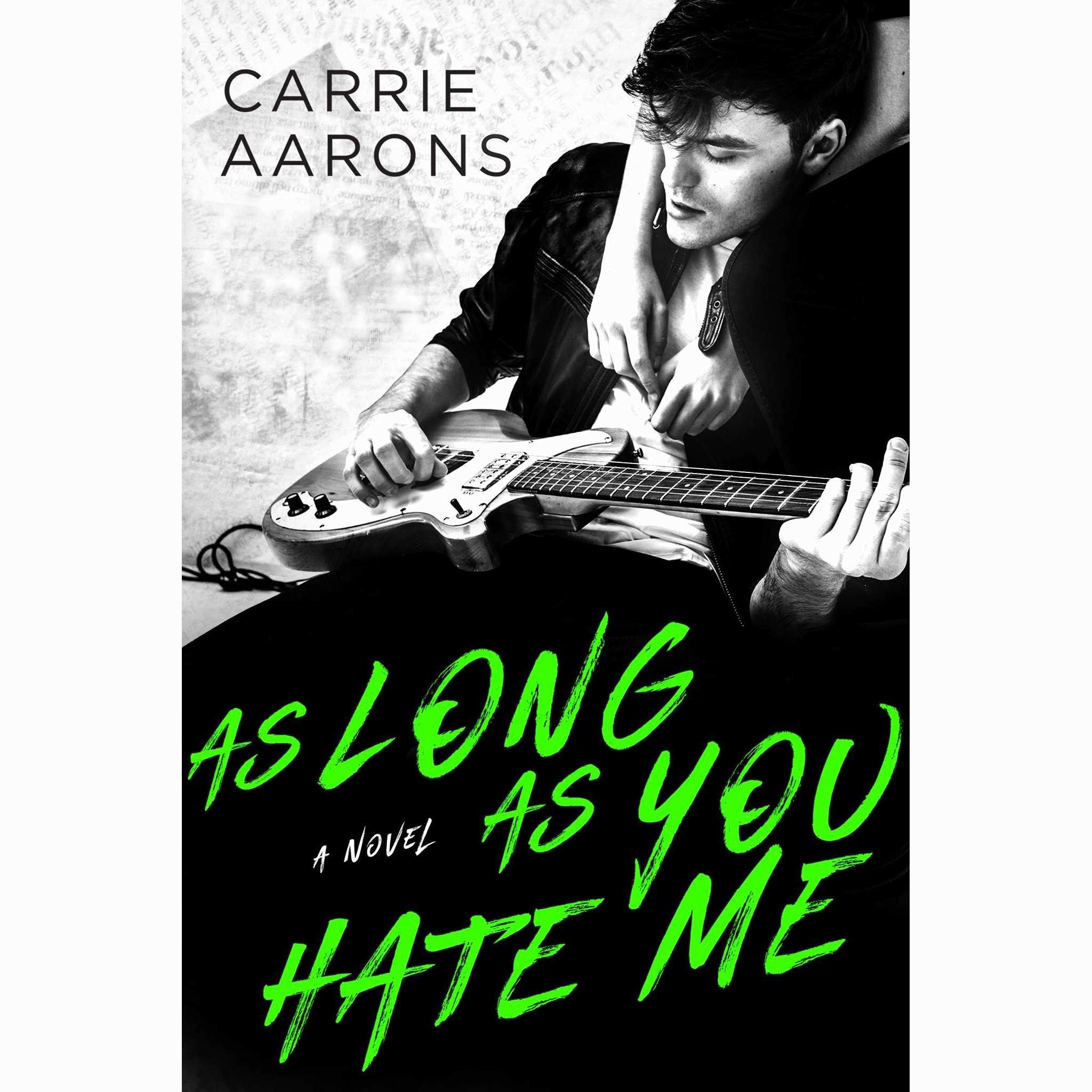 Aarons Contract Agreement Best Of as long as You Hate Me by Carrie