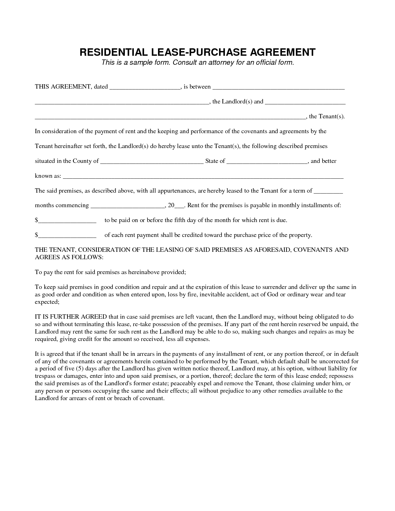 Agreement Form Sample Gtld World Congress - Contract form template