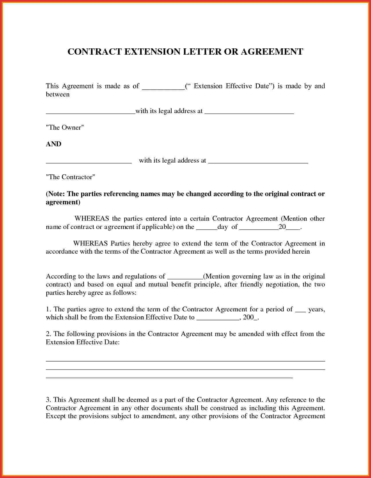 Format Of Business Agreement Letter Refrence Agreement Letter