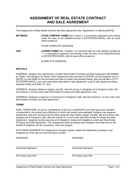 agreement for sale and purchase of real estate template house sale