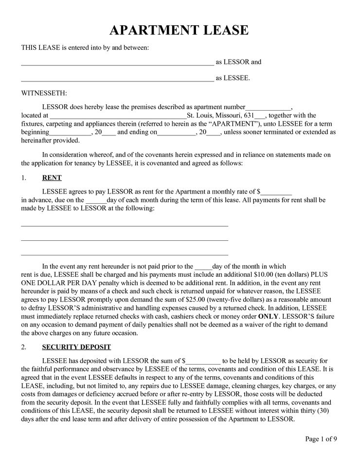 apartment rental agreement template apartment rental agreement