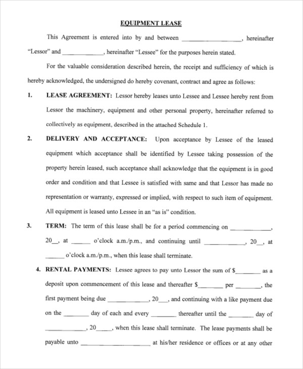 blank rental agreement template blank rental agreement template