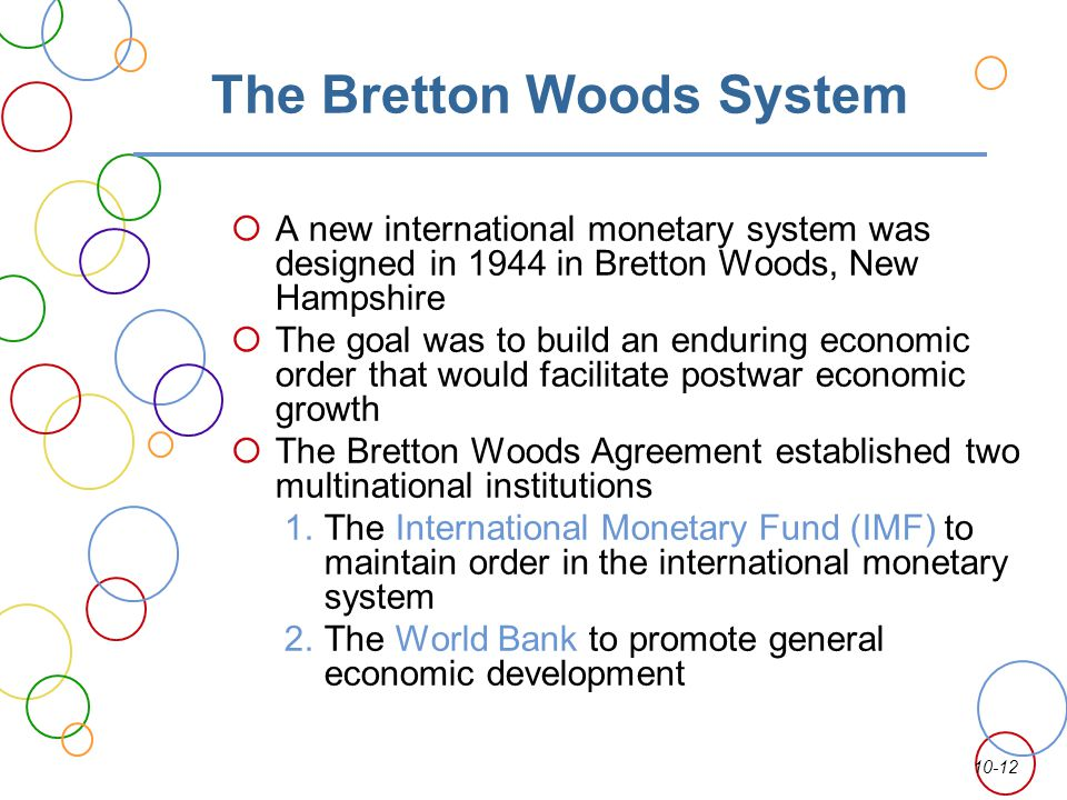 HDC and the Bretton Woods Agreement | wcftr.commarts.wisc.edu