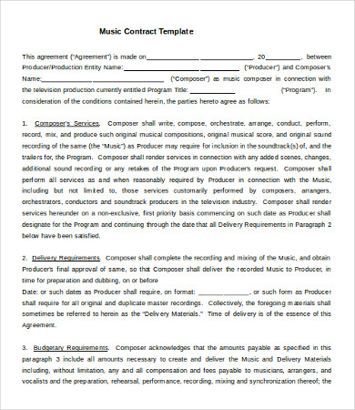 business agreement contract template 16 business contract