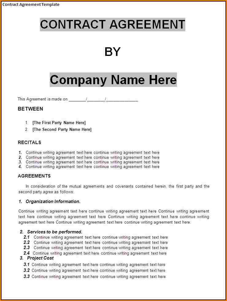 Business contract agreement gtld world congress small business agreement template small business contract template wajeb