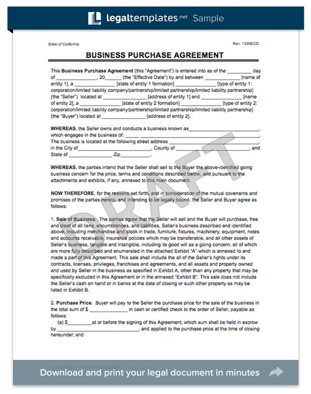 business sale agreement template free download create a business