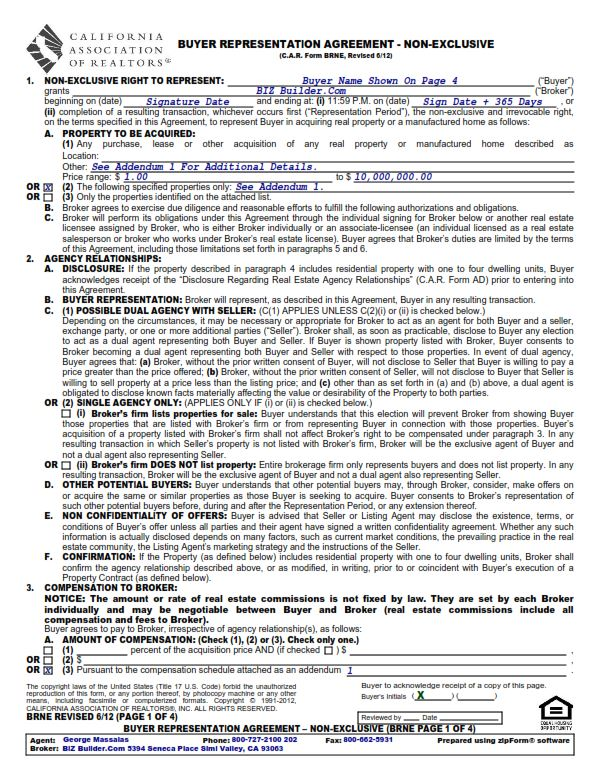 buyer representation agreement home buying 101 part six the fun
