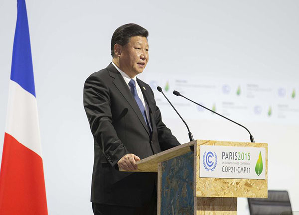 Full text of President Xi's speech at opening ceremony of Paris