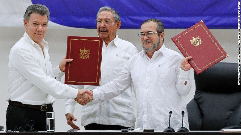 FARC Colombia peace deal finalized CNN
