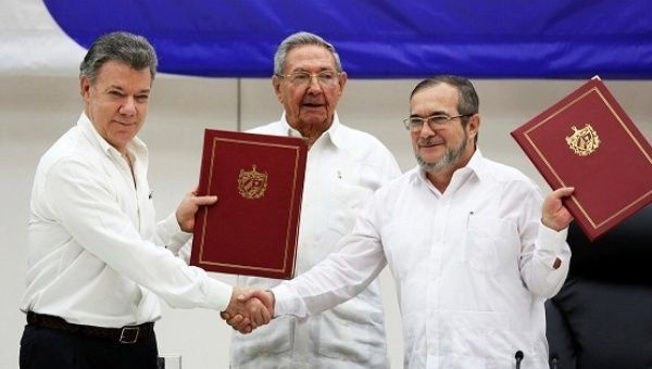 A Timeline of Colombia's Peace Process | News | teleSUR English