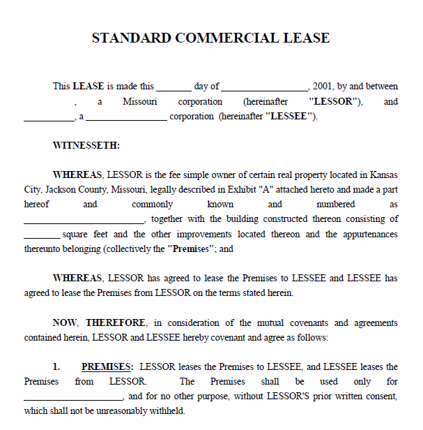 Commercial Property Lease Agreement | gtld world congress