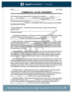 Commercial Lease Termination Letter | hunecompany.com