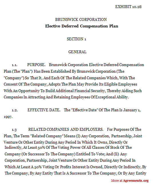INCENTIVE COMPENSATION AGREEMENT Nevada Legal Forms & Tax
