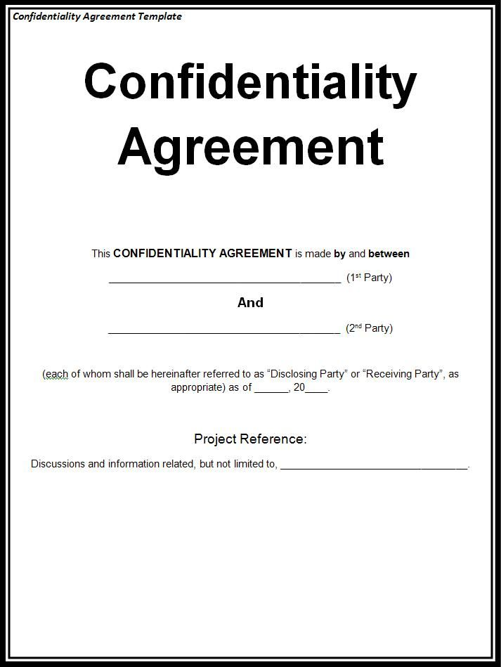 confidentiality agreement,confidentiality agreement sample | Non
