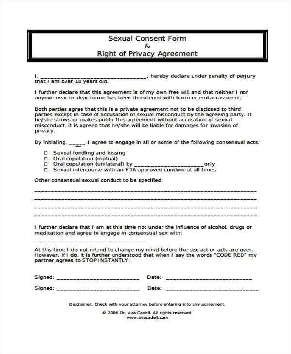 consent agreement template consent agreement template emsec