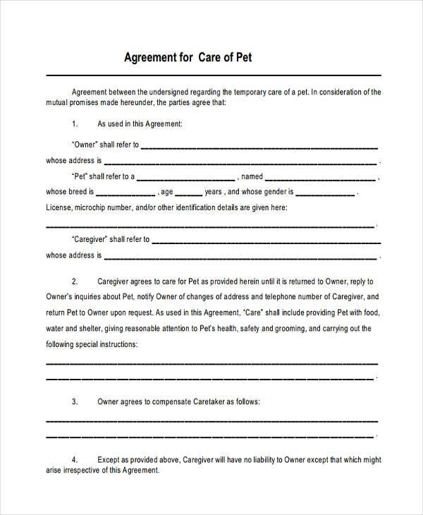 joint custody agreement template 8 custody agreement form samples