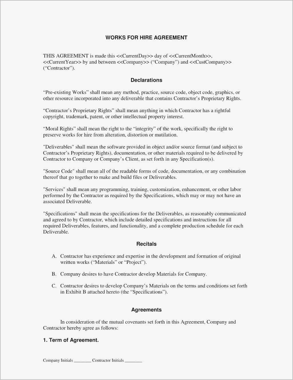 Debt Cancellation Agreement Pdf format | Business Document
