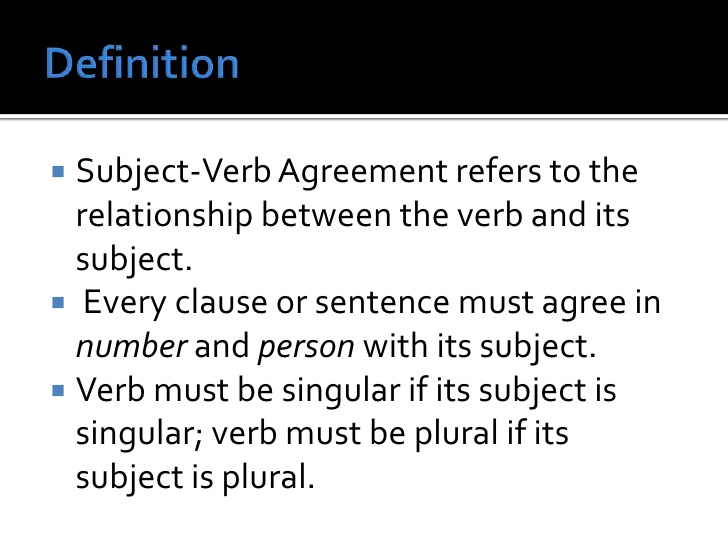 3+ rules in subject verb agreement with examples   Purchase