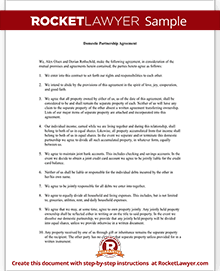 Domestic Partnership Agreement Forms | Rocket Lawyer