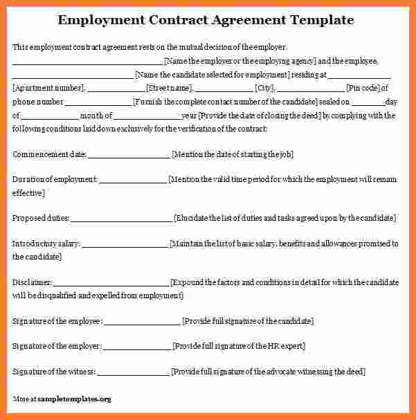 employee contract 7 Precautions You Must Take Before