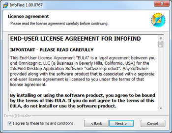 Omnicognic | Support | Topic #81 | End User License Agreement for
