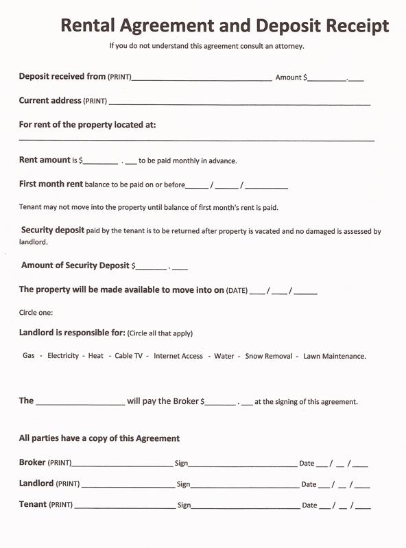 free printable lease agreement template printable rental agreement