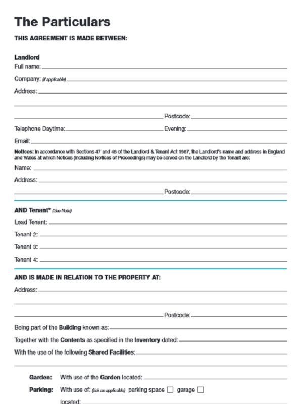 free tenancy agreement template pdf tenancy agreement template