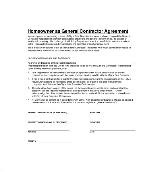 general agreement template general agreement template general