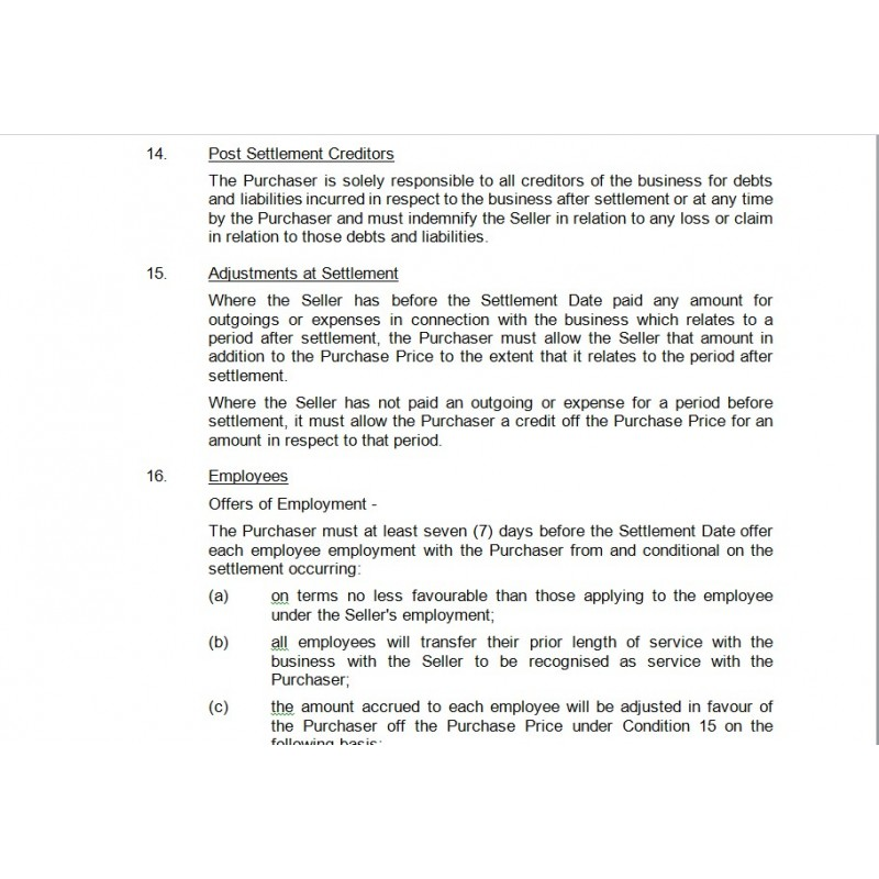heads of agreement template heads of agreement law4us agreement