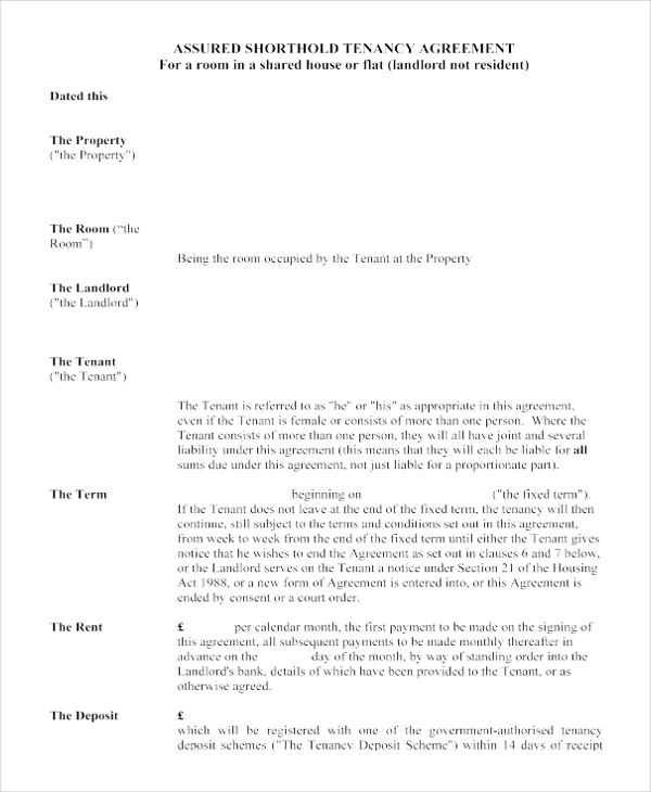 18+ House Rental Agreement Templates – Free Sample, Example Format