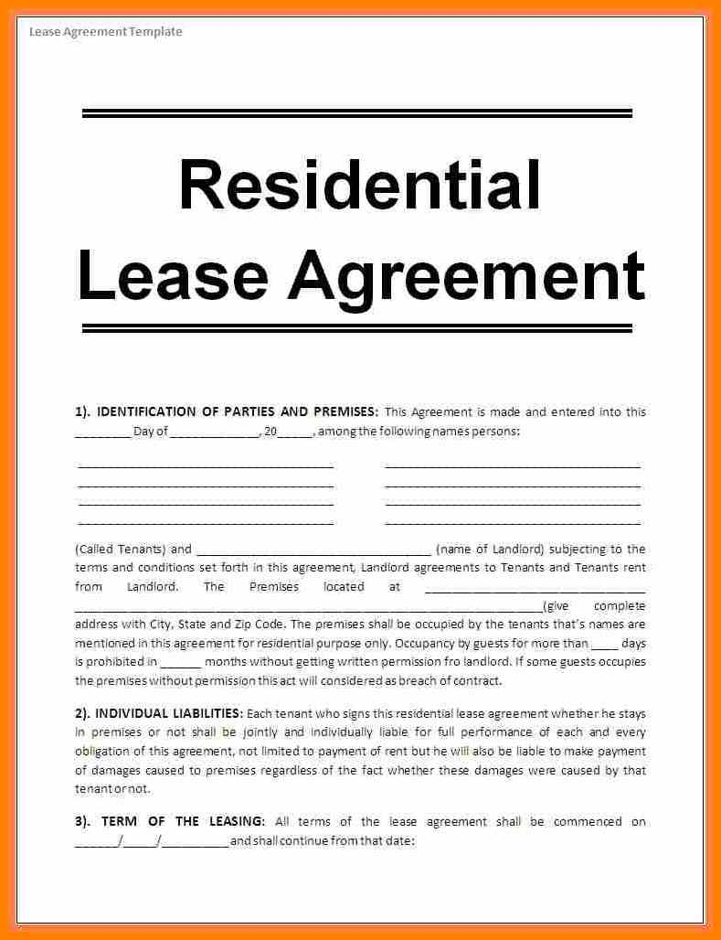 House Rental Agreement Gtld World Congress