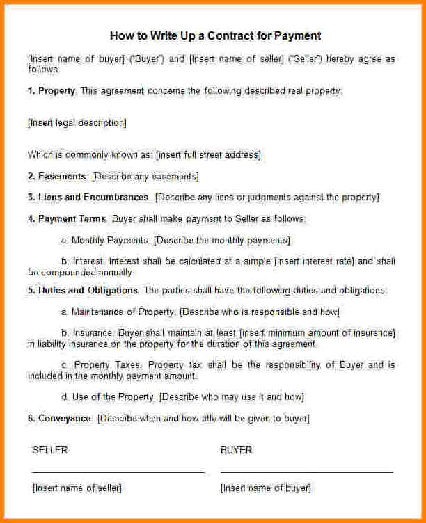 10 How To Write A Contract Agreement Legal Resumed How To Draw Up
