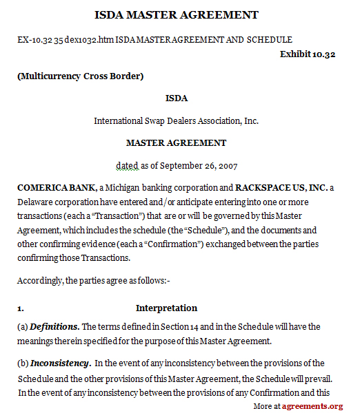 isda master agreement 2002 template master agreement template