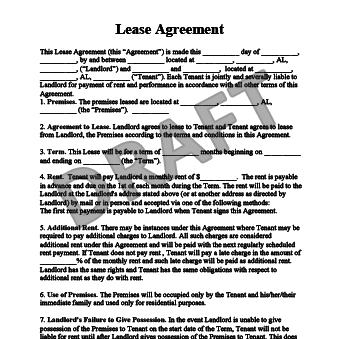 Lease Agreement Example Gtld World Congress