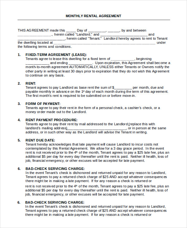 house lease agreement All You Need To Know About House