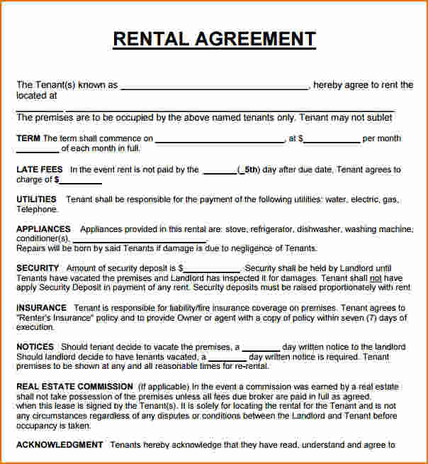 House Lease Agreement Template | Lease Agreement For Rental House Gtld World Congress