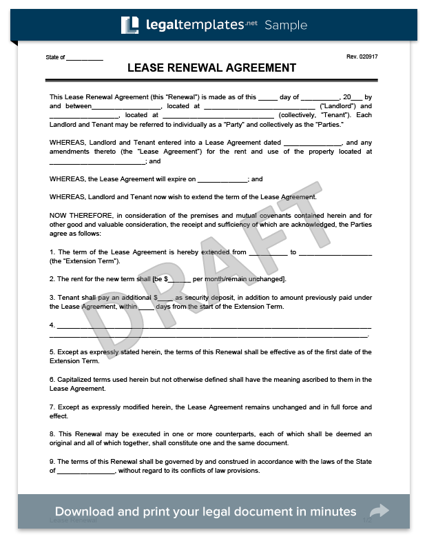 Lease Extension Form | Pinterest | Extensions, Property management
