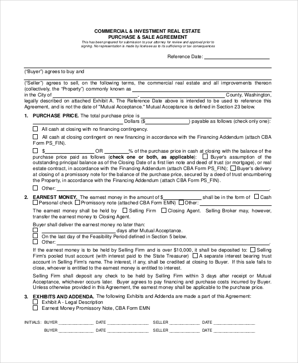 9+ Sample Lease Purchase Agreements | Sample Templates
