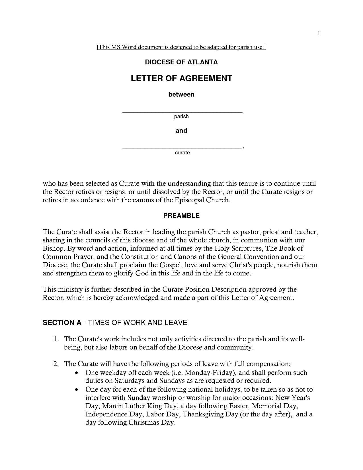 Sample letter of loan agreement: Sample letter of agreement pbs