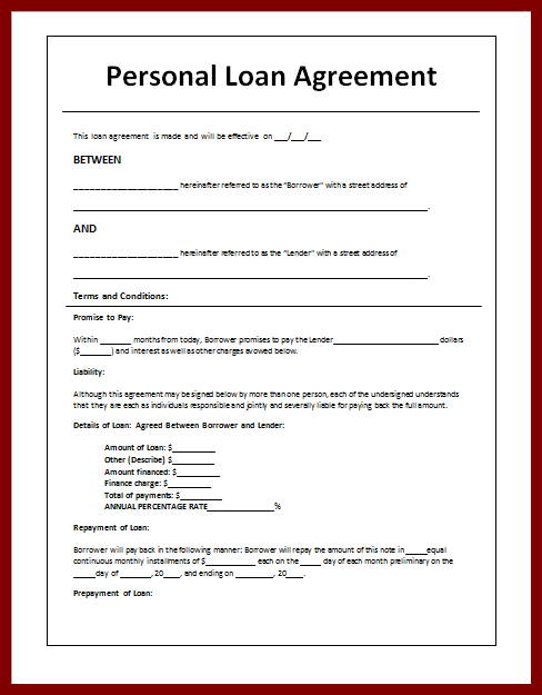 5+ sample loan agreement letter between friends | Purchase