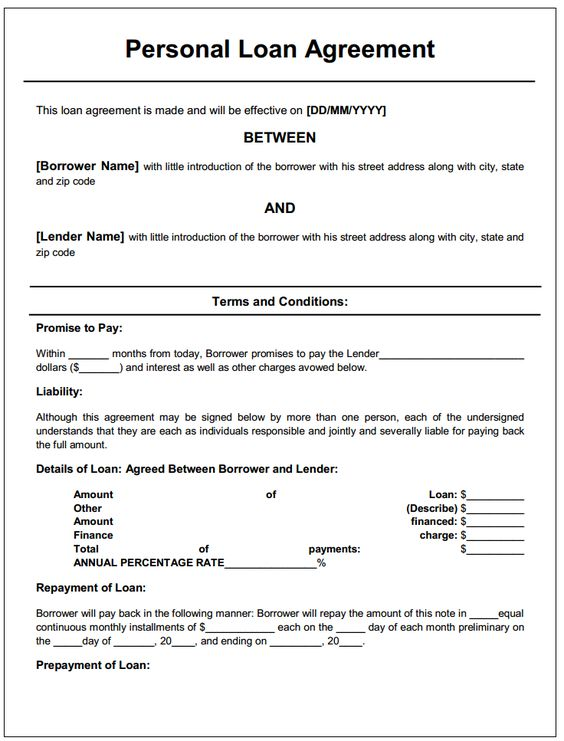 loan repayment agreement template free loan agreement letter this