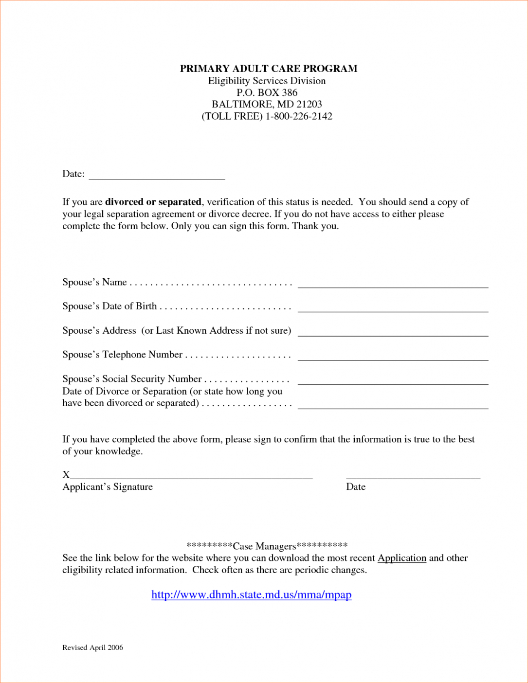 8 Marriage Separation Agreement Templatereport Template Document