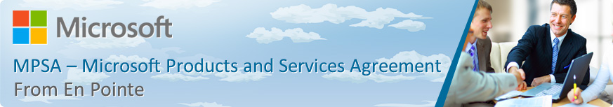 Microsoft Products and Services Agreement | En Pointe Technologies
