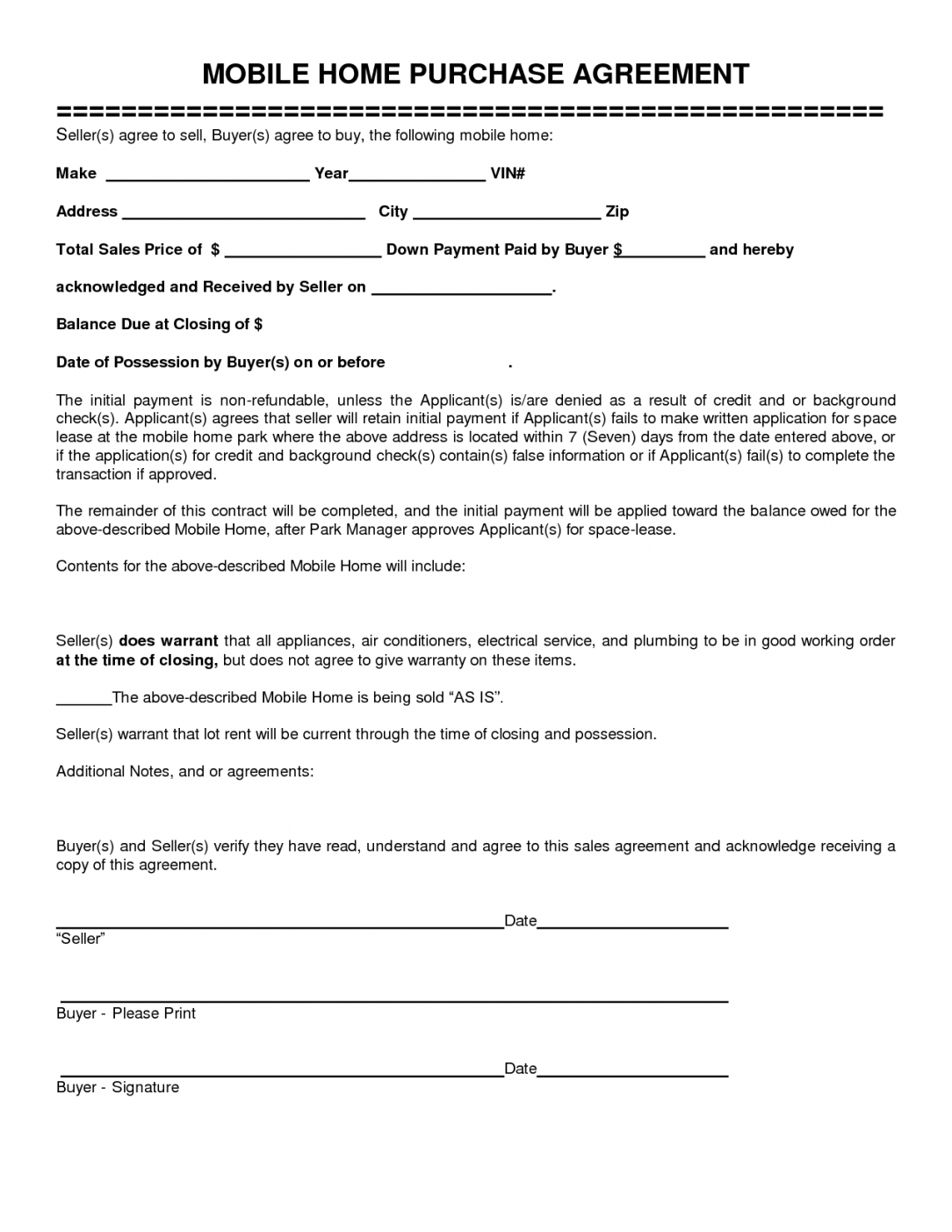 Sale Agreement Format For Mobile Phone Fill Online, Printable