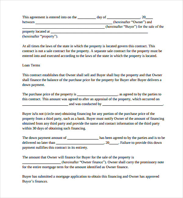 mortgage agreement template uk sample mortgage agreement template