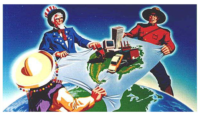 The main features of the north american free trade agreement