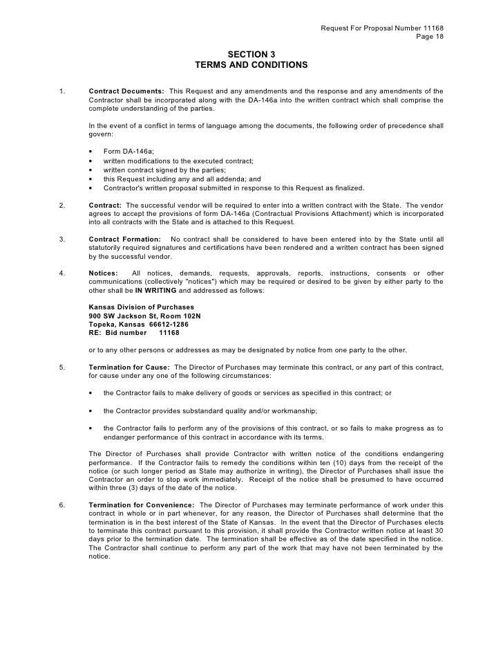 31 Clean Terms Agreement Template Ia V24370 | Edujunction