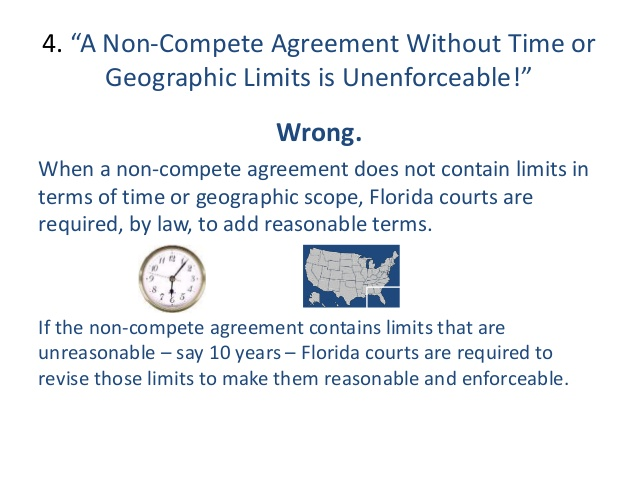 Top 10 Florida Non Compete Mistakes & Misperceptions