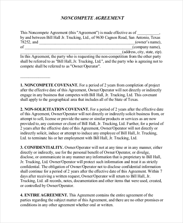 non compete non disclosure agreement template 12 non disclosure
