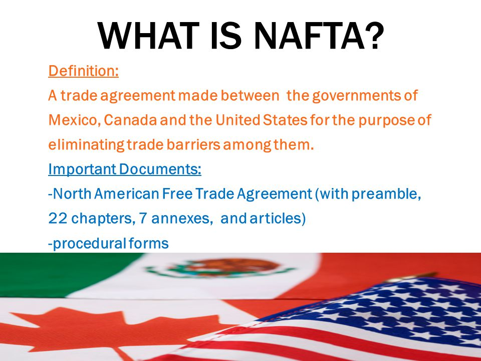 North American Free Trade Agreement Gtld World Congress